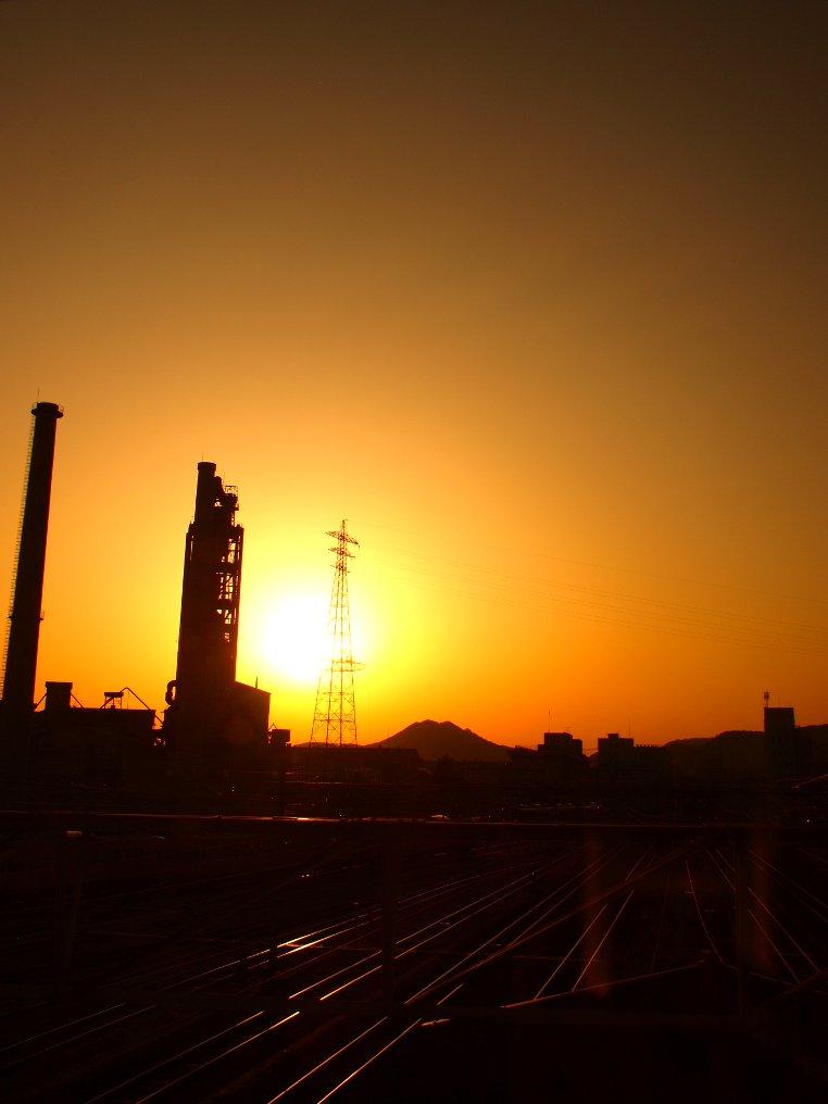 糸崎の夕陽