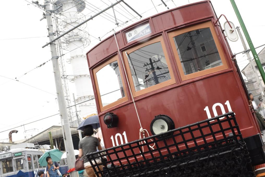 大正形電車(100形)