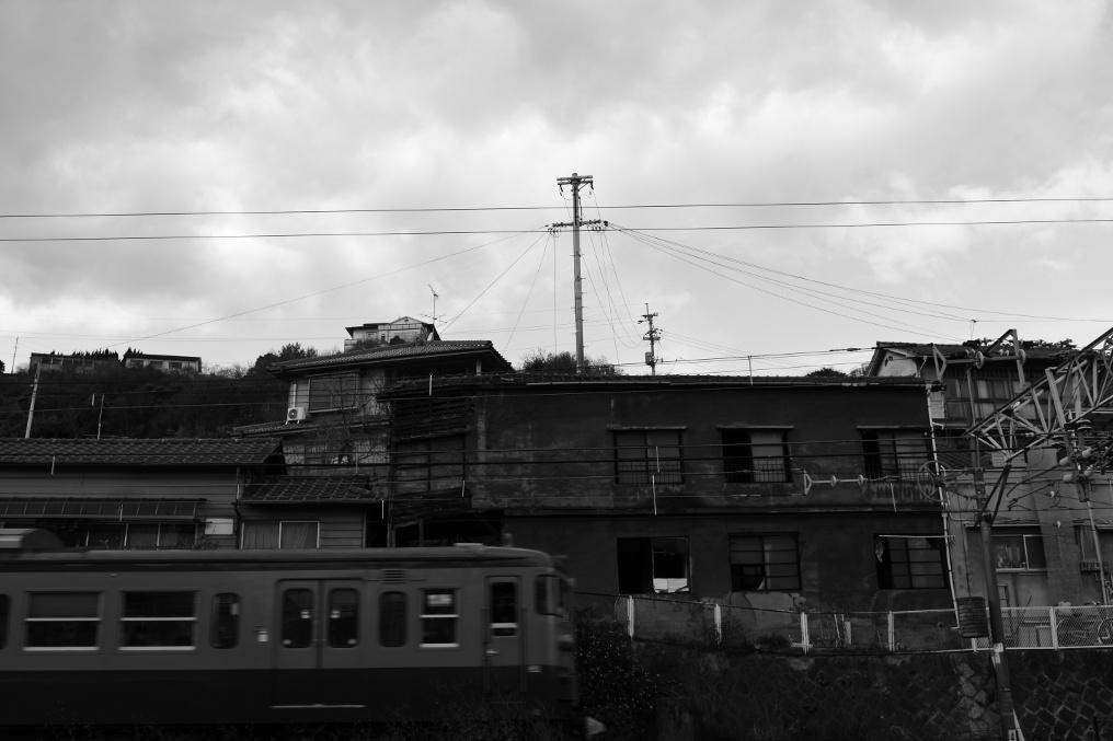 尾道の廃屋