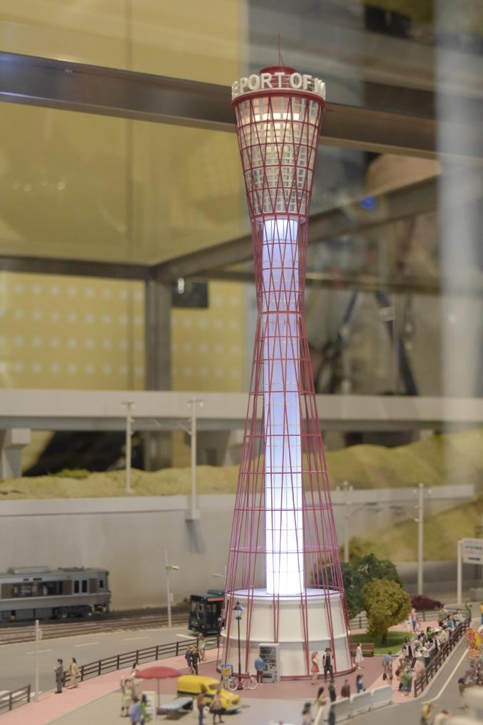 神戸タワー模型