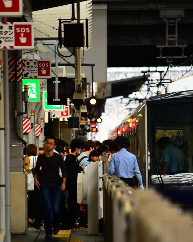 大阪駅ホーム