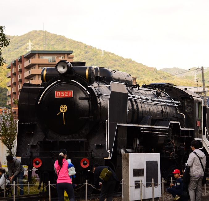 D52形式1号機関車