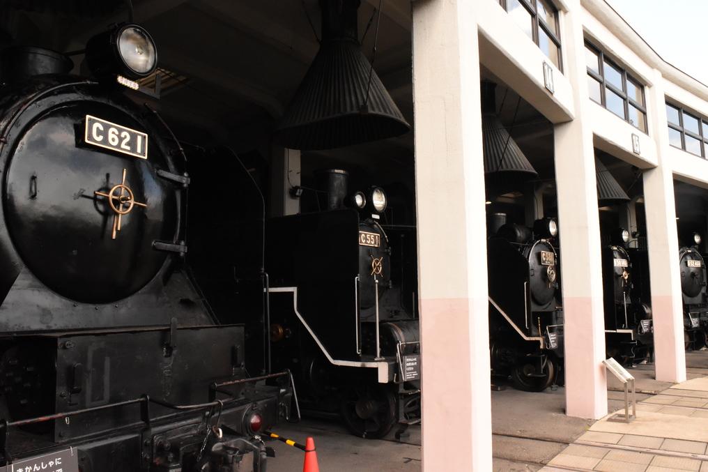 京都鉄道博物館 扇形車庫