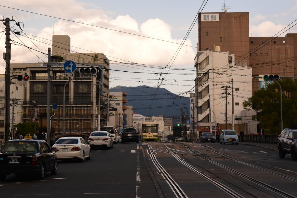 広島駅~的場町間廃止ルート