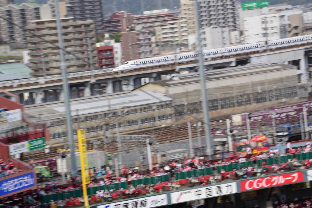 ズムスタと新幹線