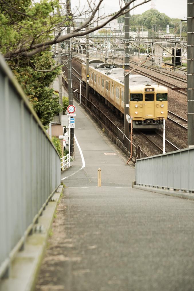 里庄駅近く