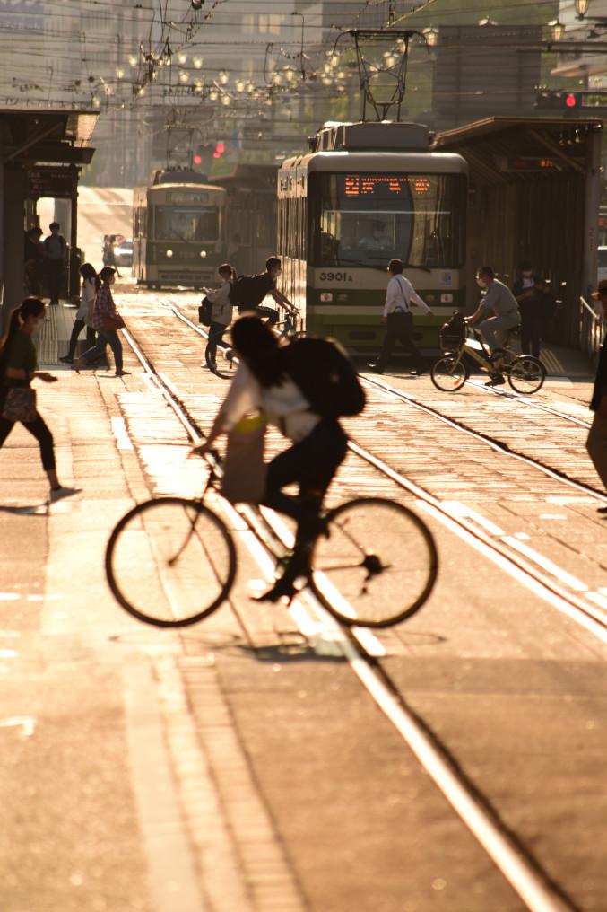 ひろでんと自転車